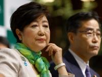 希望の党の小池百合子代表(左)と若狭勝氏(右)(写真:日刊現代/アフロ)