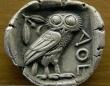 バイエルンのイルミナティの象徴である「ミネルバのフクロウ」 画像は「Wikipedia」より