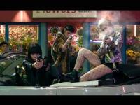 『東京ヴァンパイアホテル』でアクションに初挑戦した夏帆。クールな吸血鬼ハンター役だ。