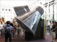 米国立航空宇宙博物館に展示されているジェミニ4号 画像は「Wikipedia」より引用