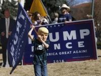 トランプ大統領の支持者、全米各地で集会(AP/アフロ)