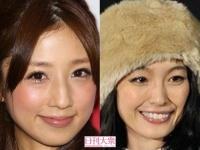 (左)小倉優子、木下優樹菜