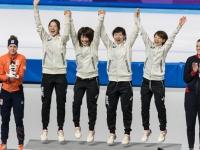 スピードスケート・パシュート女子(写真:アフロ)