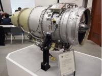 ホンダジェットに搭載されているジェットエンジン「HF120」(撮影=片山修)