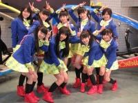 私立恵比寿中学(後列右から2番目が松野莉奈)