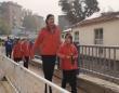 11歳で2メートル10センチ!世界一背の高い少女(中国)