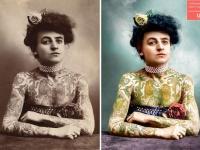 モノクロ時代の古写真を次々とカラー化していくプロジェクトがインスタグラムで公開中