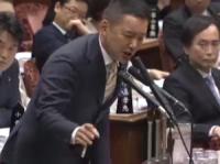 3月5日の参議院予算委員会で生活保護問題を追求する山本議員