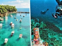 古代の難破船の間を泳ぐことができる水中遺跡博物館がオープン(ギリシャ)