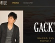 「GACKT OFFICIAL WEBSITE」より