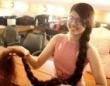 まるでラプンツェル! インドの少女の髪の毛が10代の世界最長記録更新。