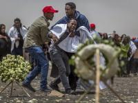 エチオピア航空機が墜落 乗客乗員全員が死亡(写真:AP/アフロ)