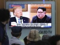 アメリカのドナルド・トランプ大統領(左)と北朝鮮の金正恩朝鮮労働党委員長(右)(写真:AP/アフロ)