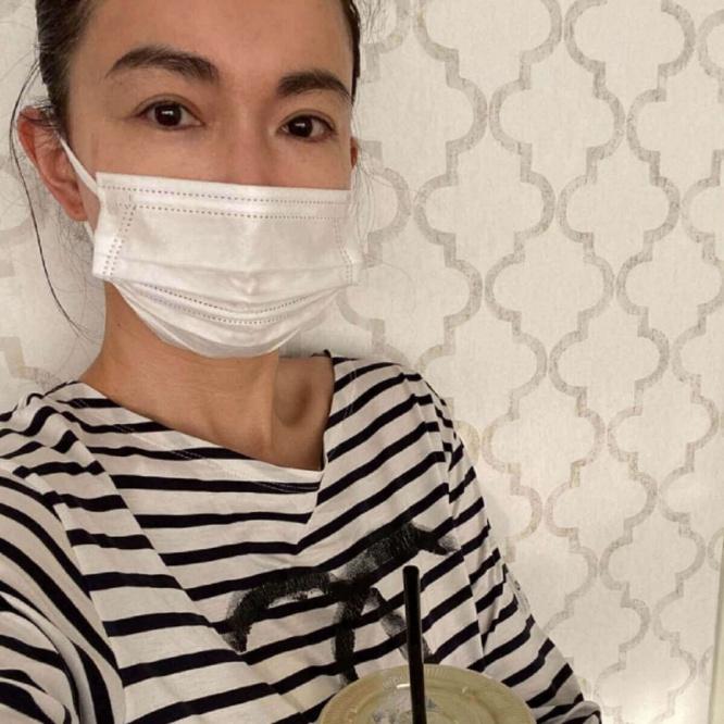 長谷川京子、すっぴんマスク姿に絶賛の嵐「マスクをしてもお美しい」(1 ...