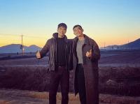 ※パク・ソジュンとアン・ボヒョン。画像はアン・ボヒョンのインスタグラムアカウント「@bohyunahn」より