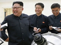 北朝鮮、6回目の核実験(KCNA/UPI/アフロ)