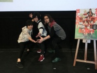 左から、御幸篤役の岡本信彦、祇園健次役の千葉翔也、和田敏郎役の竹内良太