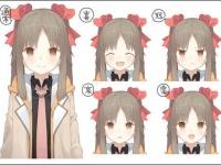 「チップアンドダイス」のキャラクター、チップ(真島千鶴)