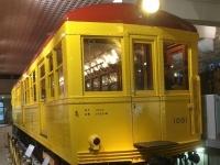 日本初の地下鉄車両(銀座線1001号車=地下鉄博物館)