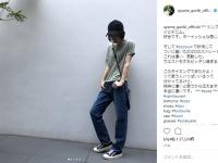 剛力彩芽公式Instagramより