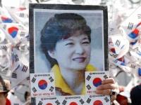 前大統領の朴槿恵氏が逮捕された韓国(写真:ロイター/アフロ)