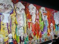 《五百羅漢図》[白虎](部分)2012年 アクリル、カンバス、板にマウント 302×2,500cm@Takashi Murakami/Kaikai Kiki Co.,Ltd. All Rights Reserved.