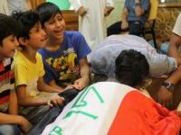 ISが犯行声明出した、今月3日に起きたイラク首都繁華街でのテロ(写真:ロイター/アフロ)