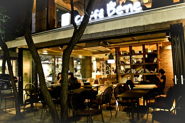 ソウル市内にある「カフェベネ」の店舗