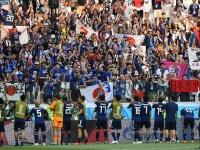 2018 FIFA W杯 日本がグループ2位でベスト16進出(写真:AFP/アフロ)