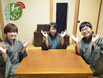 井上和彦さん、山口智広さん、松川裕輝さん