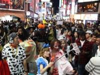 渋谷ハロウィンの様子