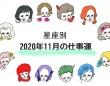【仕事運】2020年11月のあなたの運勢は?
