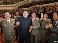 核実験の成功を祝う金正恩朝鮮労働党委員長(提供:KCNA/UPI/アフロ)