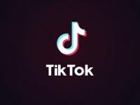 TikTokのアプリ起動画面