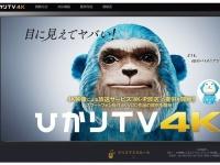 「ひかりTV HP」より
