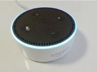 「Amazon Echo」(筆者撮影)