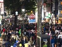 渋谷のハロウィンに恐る恐る突撃。
