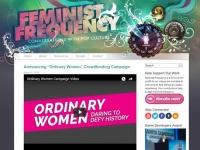 「Feminist Frequency」公式サイトより。